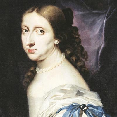 Kristina. Målning av Abraham Wuchters.