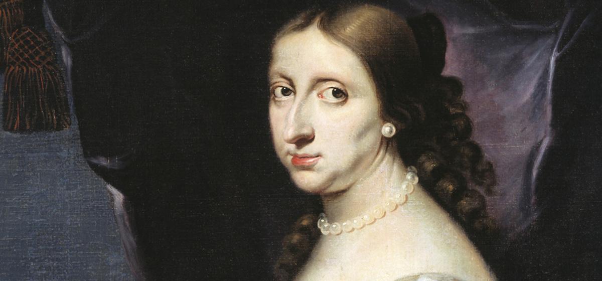 Kristina - Målning av Abraham Wuchters 1661.