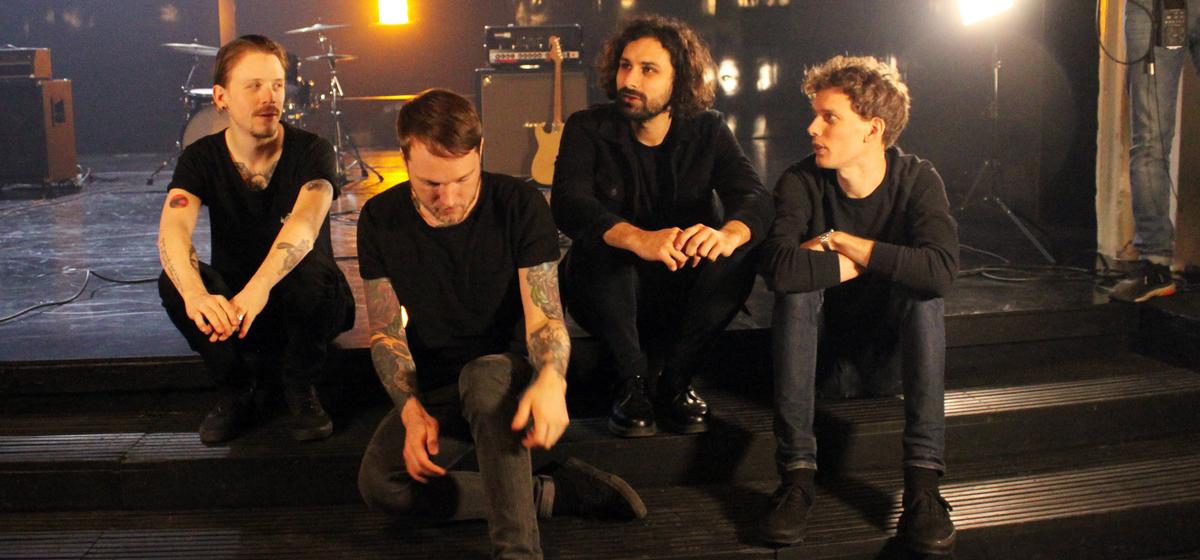 pg.lost - Bandmedlemmarna Martin Hjertstedt, Kristian Karlsson, Mattias Bhatt och Gustav Almberg har länge velat spela på Stora teatern.