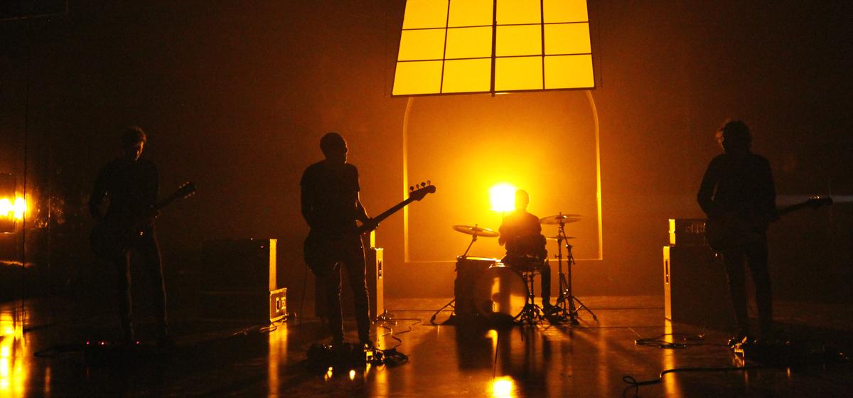 Mäktig upplevelse - pg.lost - Visuell musik ska bryta ny mark när det gäller livekonserter.