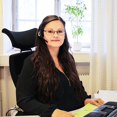 Anna Nilsson. Foto: Sara Pärlefalk