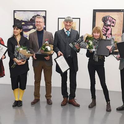 Prisceremonin på Passagen. Foto: Niklas Nåbo