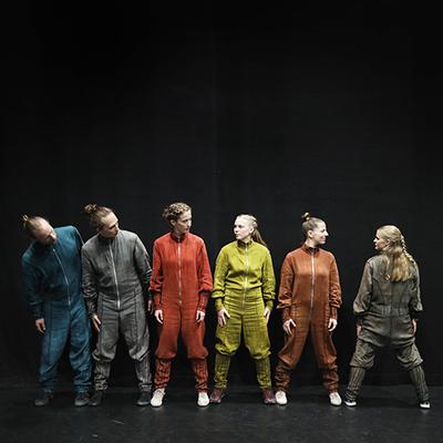 In Action: Per Enequist, Vincent Jonsson, Matilda Larsson, Tea Harryson, Ana García Diego, Sofia Sosso Harryson