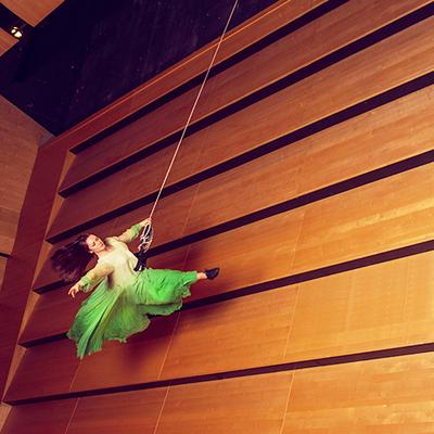 Cirkusartisten Anna Gehlin. Foto: Einar Kling Odencrants