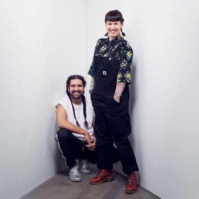 Nils Poletti och Fanny Twardomanski. Foto: Klara G