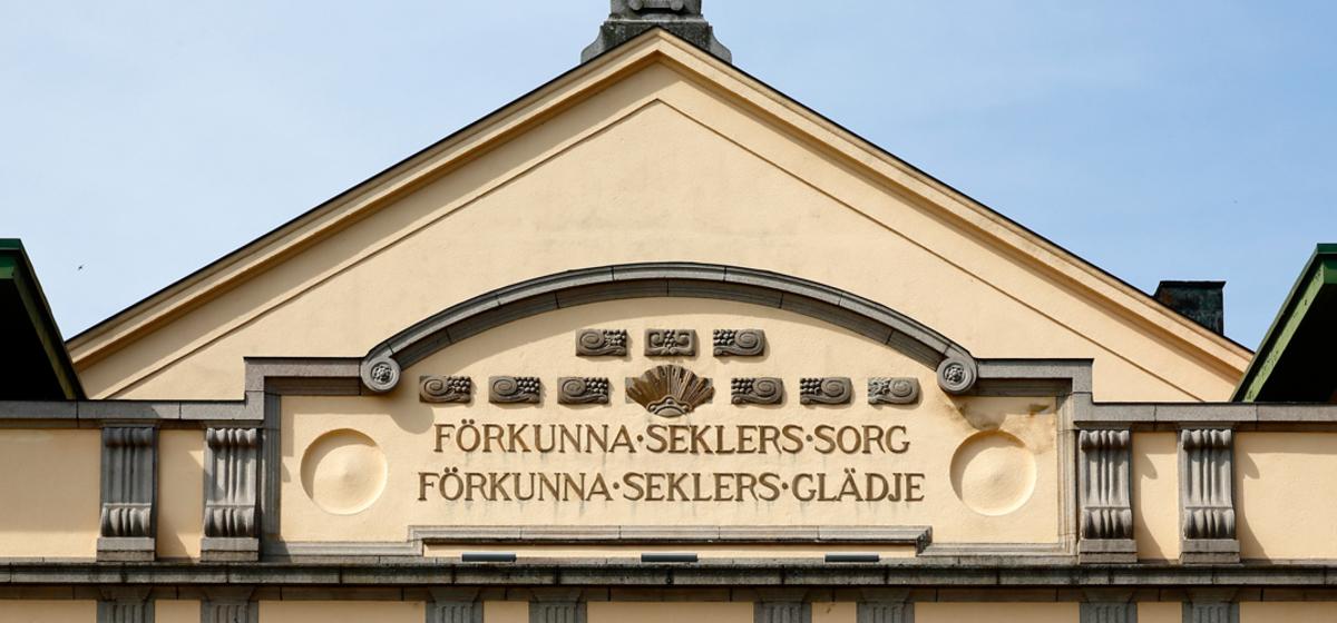 Devis på Stora teatern i Norrköping - Foto: Peter Holgersson