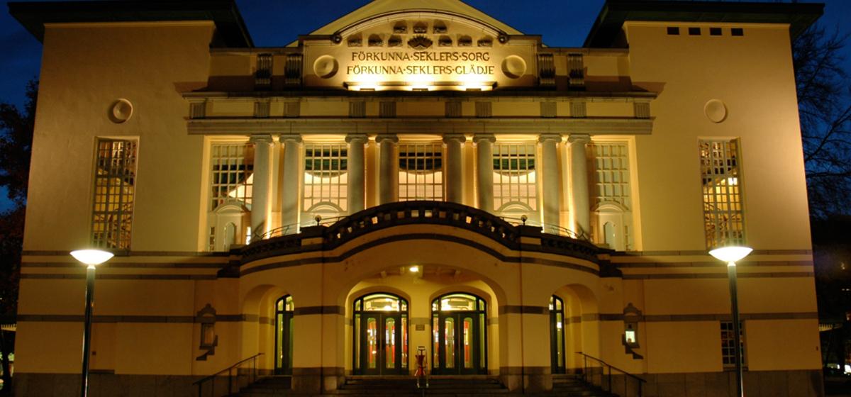 Stora teatern i Norrköping - Foto: Östgötateatern