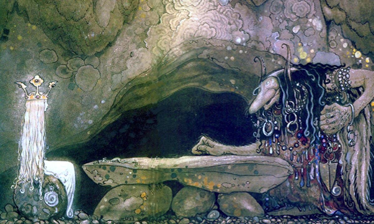 Flickan i kristallyktan - Av Hjalmar Bergman