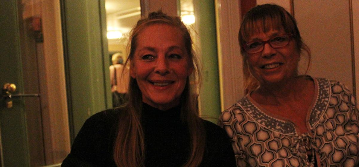 """""""Jätteintressant att lyssna på"""" - Eva Carlsson och Solbritt Nilsson var väldigt nöjda med kvällen."""
