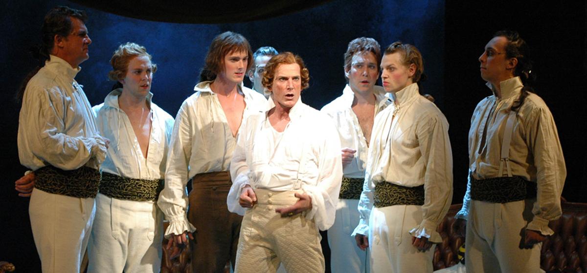 Röda Nejlikan - Richard Carlsohn spelade titelrollen i publiksuccén.