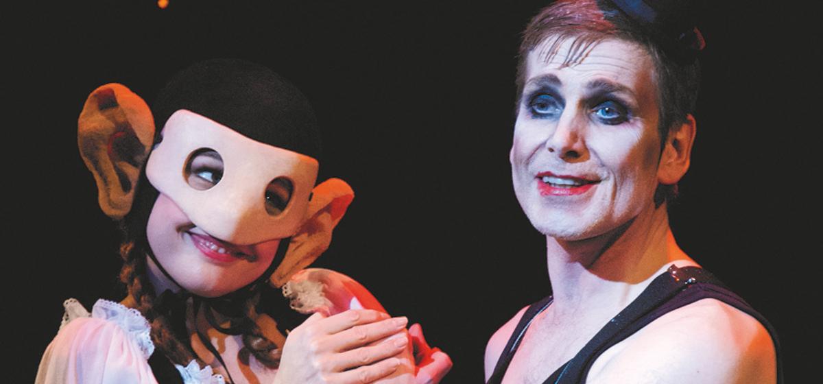 Cabaret - Karin Oscarsson och Richard Carlsohn.